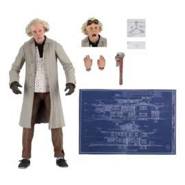 NECA Back to the Future AF Ultimate Doc Brown