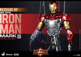 Hot Toys Iron Man MMAF 1/6 Iron Man Mark III (Construction Version) - Pre order