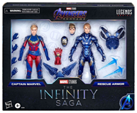 Marvel Legends Infinity Saga Captain Marvel & Rescue Armor - Pre order