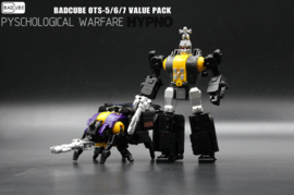 Badcube OTS-5/6/7 Evil Bug Corps Set of 3