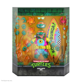 Super7 Teenage Mutant Ninja Turtles Ultimates Sewer Surfer Mike - Pre order