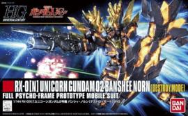 1/144 HGUC RX-0[N] Unicorn Gundam 02 Banshee Norn (Destroy Mode)
