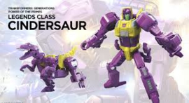 Hasbro PotP Wave 3 Legends Cindersaur