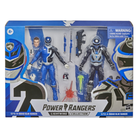 Power Rangers LC AF S.P.D B-Squad Blue Ranger and A-Squad Blue Ranger