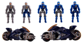 Diaclone Reboot DA-15 Big Powered Trooper Set