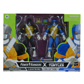 Hasbro Power Rangers LC X TMNT 2-Pack Morphed Donatello and Morphed Leonardo - Pre order