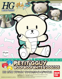 Petit'gguy Woof Woof White & Dog Cos