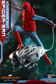Hot Toys Spider-Man: FFH MMS AF 1/6 Spider-Man (Homemade Suit)