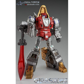 Gigapower Gigasaurs HQ-02 Grassor [Metallic Version]