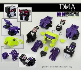 DNA DESIGN DK-01 Devastator Upgrade Kit