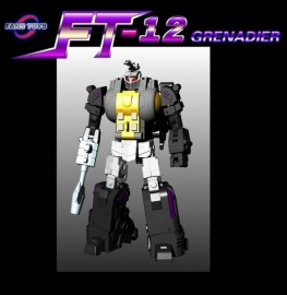 Fanstoys FT-12 Grenadier Grey Chest (Bombshell)