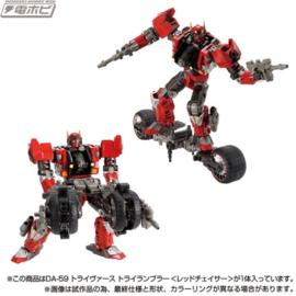 Takara Diaclone DA-59 Tryverse Tri Rambler [Red Chaser] - Pre order