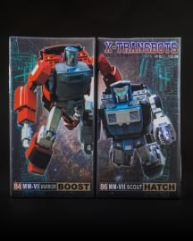 X-Transbots set MM-VI Boost en MM-VII Hatch
