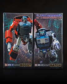 X-Transbots set MM-VI Boost & MM-VII Hatch