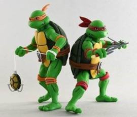 Neca Teenage Mutant Ninja Turtles 2-Pack Michelangelo & Raphael - Pre order