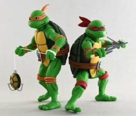 Neca Teenage Mutant Ninja Turtles 2-Pack Michelangelo & Raphael - Pre order