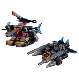 Takara Diaclone Reboot DA-46 Tryverse Shadow Jetter - Pre order