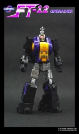FansToys FT-12T - Grenadier Purple Chest (Bombshell)