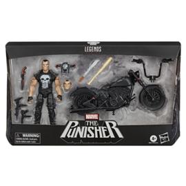 Marvel Legends AF Punisher and Motorcycle