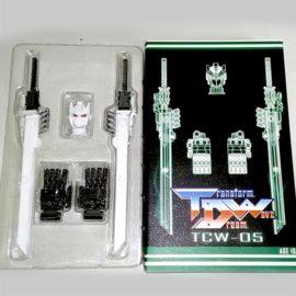 Transform Dream Wave TCW-05 Sixshot Upgrade Set