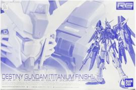 P-Bandai: 1/144 RG Strike Freedom Gundam [Titanium Finish]