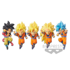 Dragon Ball Z Dokkan Battle 5th Ann. World Collectible Figure Son Goku - Pre order