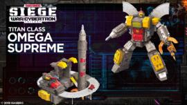 Hasbro WFC Siege Titan Omega Supreme