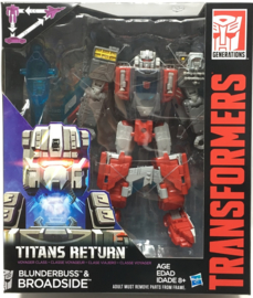 Titans Return Wave 4 Voyager Broadside