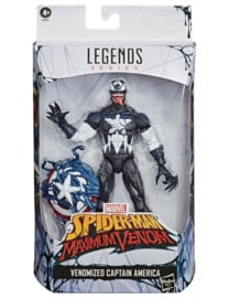 Marvel Legends Venomized Captain America