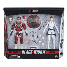 Marvel Legends Black Widow AF 2-Pack 2021 Red Guardian & Melina - Pre order