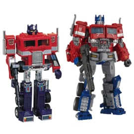 Takara Convoy and Optimus Prime [set of 2]