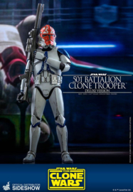 Star Wars The Clone Wars AF 1/6 501st Battalion Clone Trooper (Deluxe) - Pre order