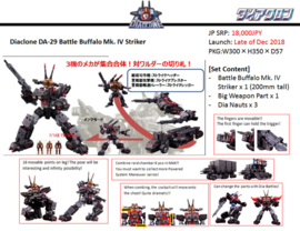 Diaclone DA-29 Battle Buffalo MK-IV Striker