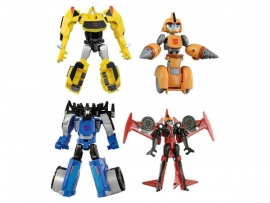 Takara TAV-48 EZ Collection Bumblebee vs Thunderhoof