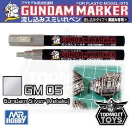 Gundam Marker GM-05 Silver Metallic Marker