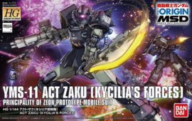 1/144 HGGTO YMS-11 Act Zaku (Kycilia's Forces)