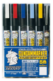 Gundam Marker GMS-114 Gundam Seed D Set