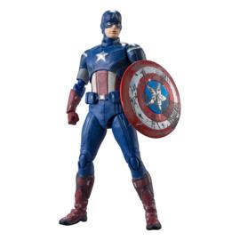 Avengers S.H. Figuarts AF Captain America (Avengers Assemble Edition) - Pre order