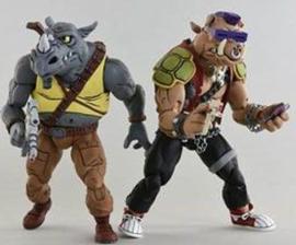 Neca Teenage Mutant Ninja Turtles 2-Pack Rocksteady & Bebop - Pre order