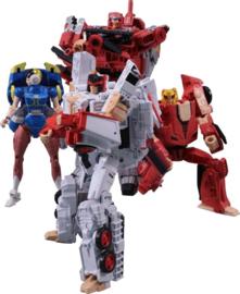 Takara Tomy Mall Exclusive Street Fighters II X Transformers Ryu VS Vega
