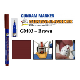Gundam Marker GM-03 Brown Marker
