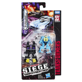 Hasbro WFC Siege Micromasters Black Jack & Hyperdrive