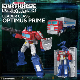 Transformers Earthrise Leader Optimus Prime - Pre order