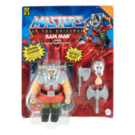 Masters of the Universe Deluxe AF 21 Ram Man - Pre order