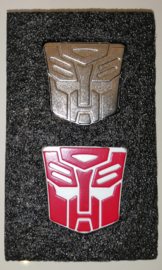 Lewin Set of 2 Logos for Lewin Optimus Prime