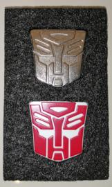 Lewin Set of 2 Logos for Lewin Optimus Prime