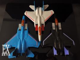 Zeta EX15 Red Spider, EX16 Thundermaker & EX17 Sky Gill [set of 3] - Pre order