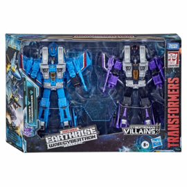 Transformers Earthrise WFC-E29 Thundercracker & Skywarp [2-pack]