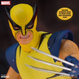 Mezco Marvel Universe AF 1/12 Wolverine Deluxe Steel Box Edition - Pre order