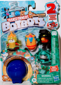 Hasbro Botbots Serie 4 Home Rangers Set of 5 [A]